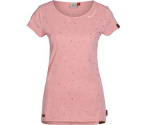 Mint Luck T-hirt Damen pink