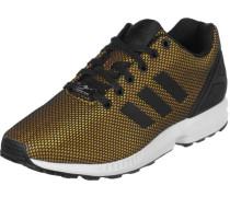 Zx Flux Schuhe gold schwarz EU