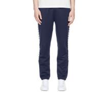 Taped Sweatpants Jogginghose blau blau