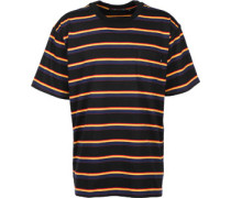 Eckford Box Pocket T-hirt chwarz