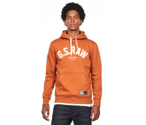 Graphic 14 Herren Hoodie orange