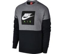 Crew Sweater grau schwarz