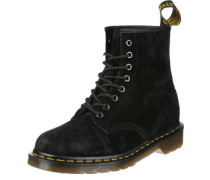1460 Soft Buck Stiefel schwarz