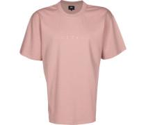 Katakana Embroidery Herren T-hirt pink