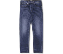 Ed-55 Regular Tapered Jeans contrast clean
