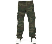 Aviation Cargo Columbia Hose Herren camo