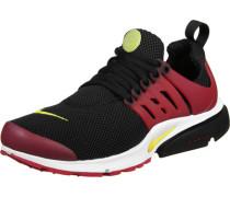 Air Presto Essential Schuhe schwarz rot gelb