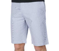 Ed-71 Slim Straight Shorts blau weiß gestreift