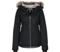 Shortcut W Winterjacke schwarz