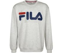Classic Logo Sweater Herren grau meliert EU