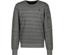 Stalt r sw Herren Sweater grau eliert