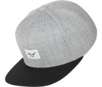 Pitchout 6-Panel Snapback grau meliert schwarz