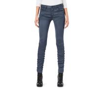 5620 Staq 3d Mid Skinny Jeans Damen mazarine