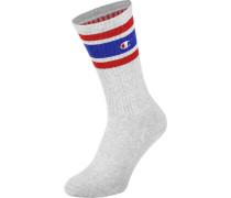 1pp Crew Socken grau