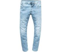 3301 Slim Jeans Herren lt indigo aged