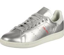 Stan Smith Schuhe Damen silber