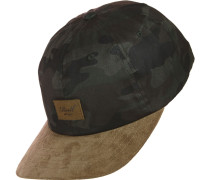 Curved Suede Cap camouflage