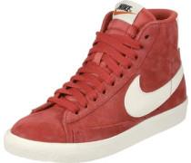 Blazer Mid Suede Vintage W Schuhe rot weiß