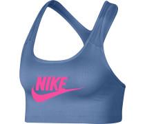 Swoosh Futura Damen Sport-BH blau