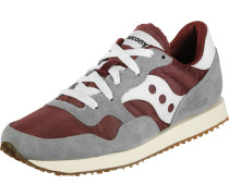 Dxn Vintage Damen Schuhe grau rot
