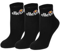 Arrom 3pk Socken schwarz