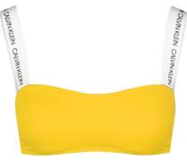 Bandeau-RP Damen Bikini Oberteil gelb