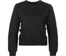 Rackam cropped r sw W Sweater schwarz