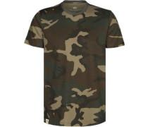Blood Chit Prin T-Shirt Camo