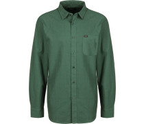 Charter Oxford Herren Langarmhemd grün