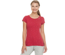 Mint Luck T-Shirt Damen rot