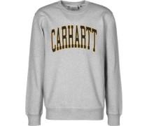 Division Sweater grau meliert