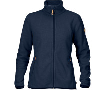 Stina Damen Fleecejacke blau