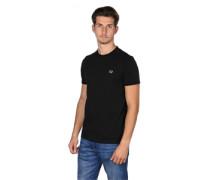 Ringer T-Shirt schwarz