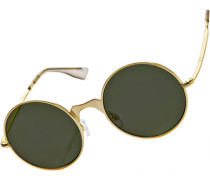 Poolside Punk Sonnenbrille gold