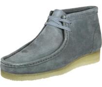 Wallabee Boots Schuhe blau grau