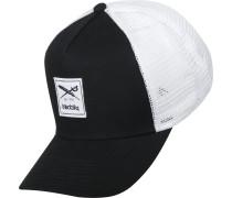 Daily Flag Mesh Trucker Cap schwarz weiß