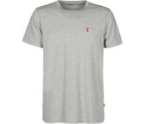 Övik Pocket Herren T-Shirt grau meiert