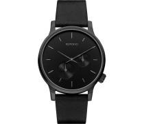 Winston Double Subs Uhr schwarz