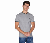 Twin Tpped T-Shirt grau eliert