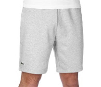 Fleece Trainingsshorts Shorts grau eliert grau eliert