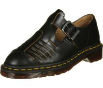 Mica Vintage Smooth Sandalen schwarz