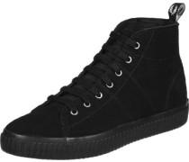 Ellesmere Mid Suede W Schuhe schwarz