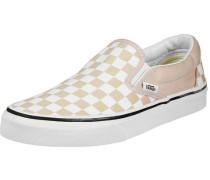 Classic Slip-On Schuhe beige weiß