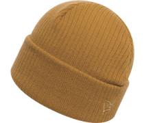Lightweight Cuff Knit Beanie braun