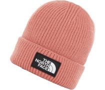 Tnf Logo Box Beanie pink