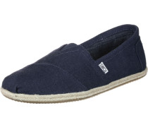 Alpargata Schuhe blau