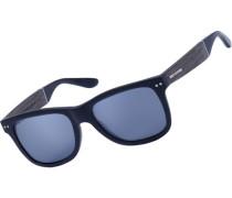 Schellenberg matte Sonnenbrille schwarz braun