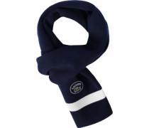 Schal blau weiß