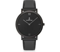 Pure Nox Uhr schwarz
