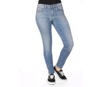Calvin Klein Hr Skinny Ankle W Damen Jeans bottle blue